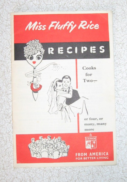 rice recipe leaflet