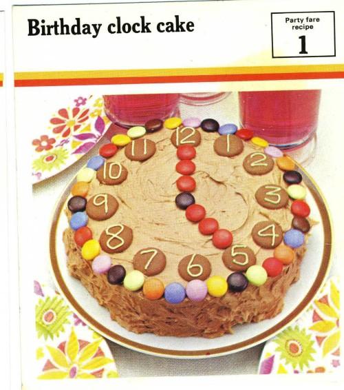 clockcake