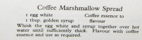 Coffee Marshmallow Spread recipe