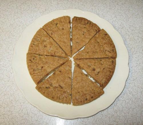 ginger shortbread