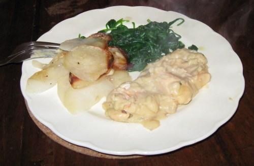 Bechamel Chicken
