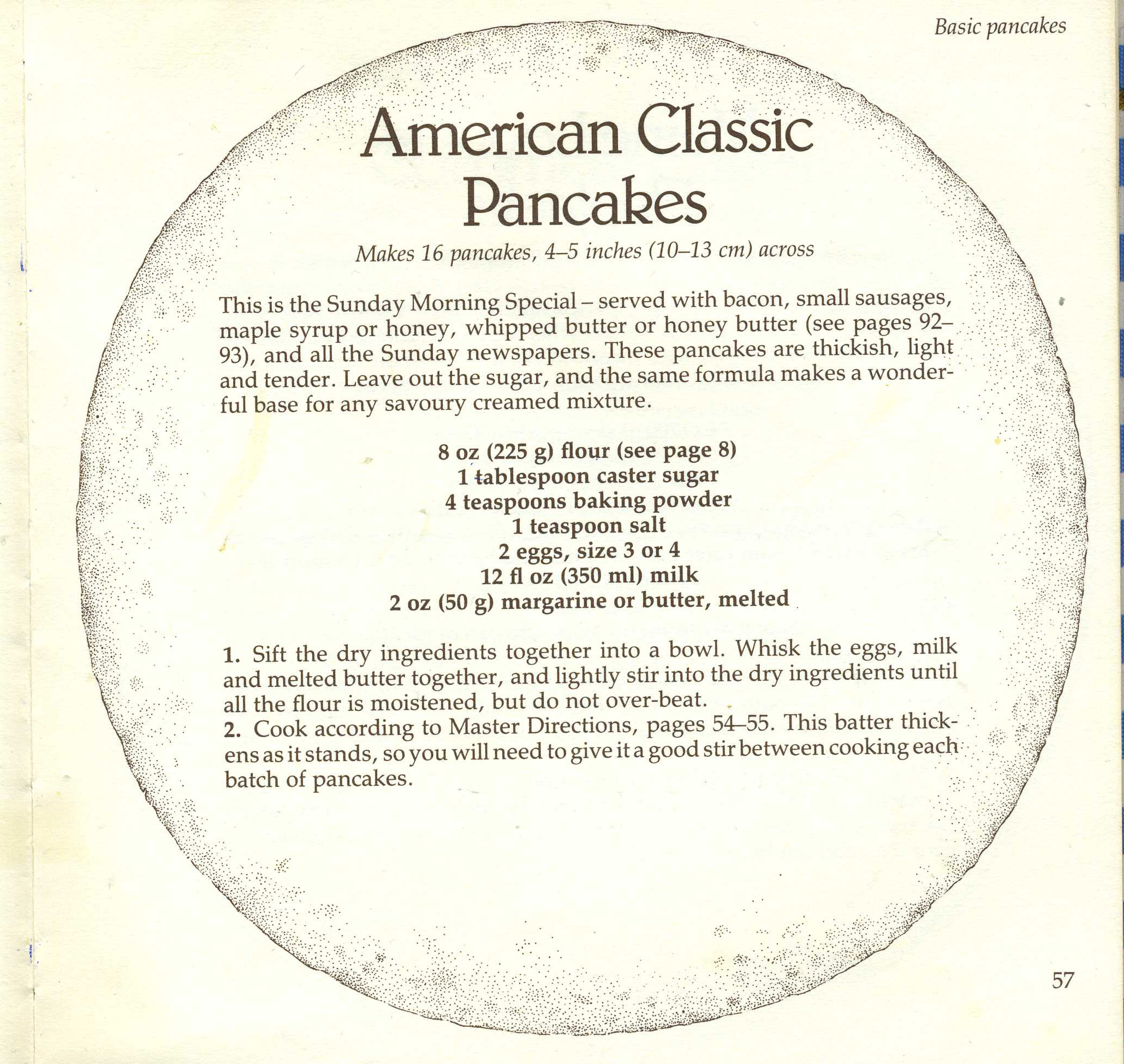 American Classic Pancakes The Vintage Cookbook Trials
