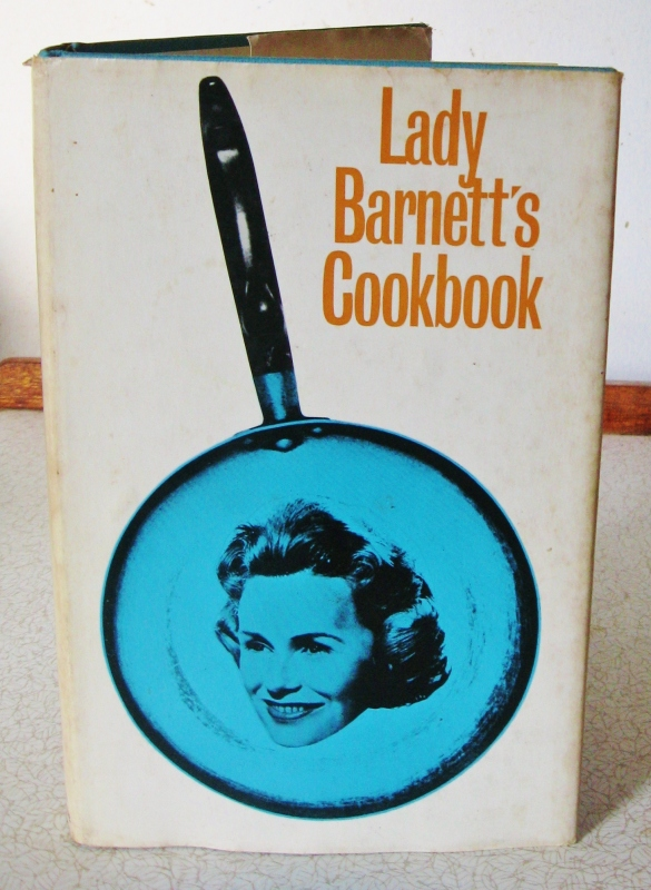 Lady Barnett's Cookbook front cover