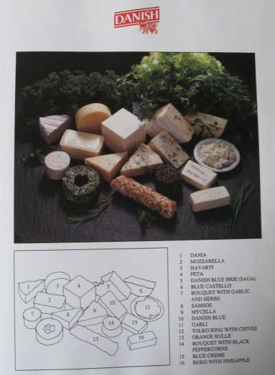 Types of Danish Cheese